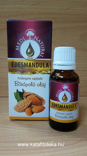 MEDINATURAL ÉDESMANDULA OLAJ 20 ML