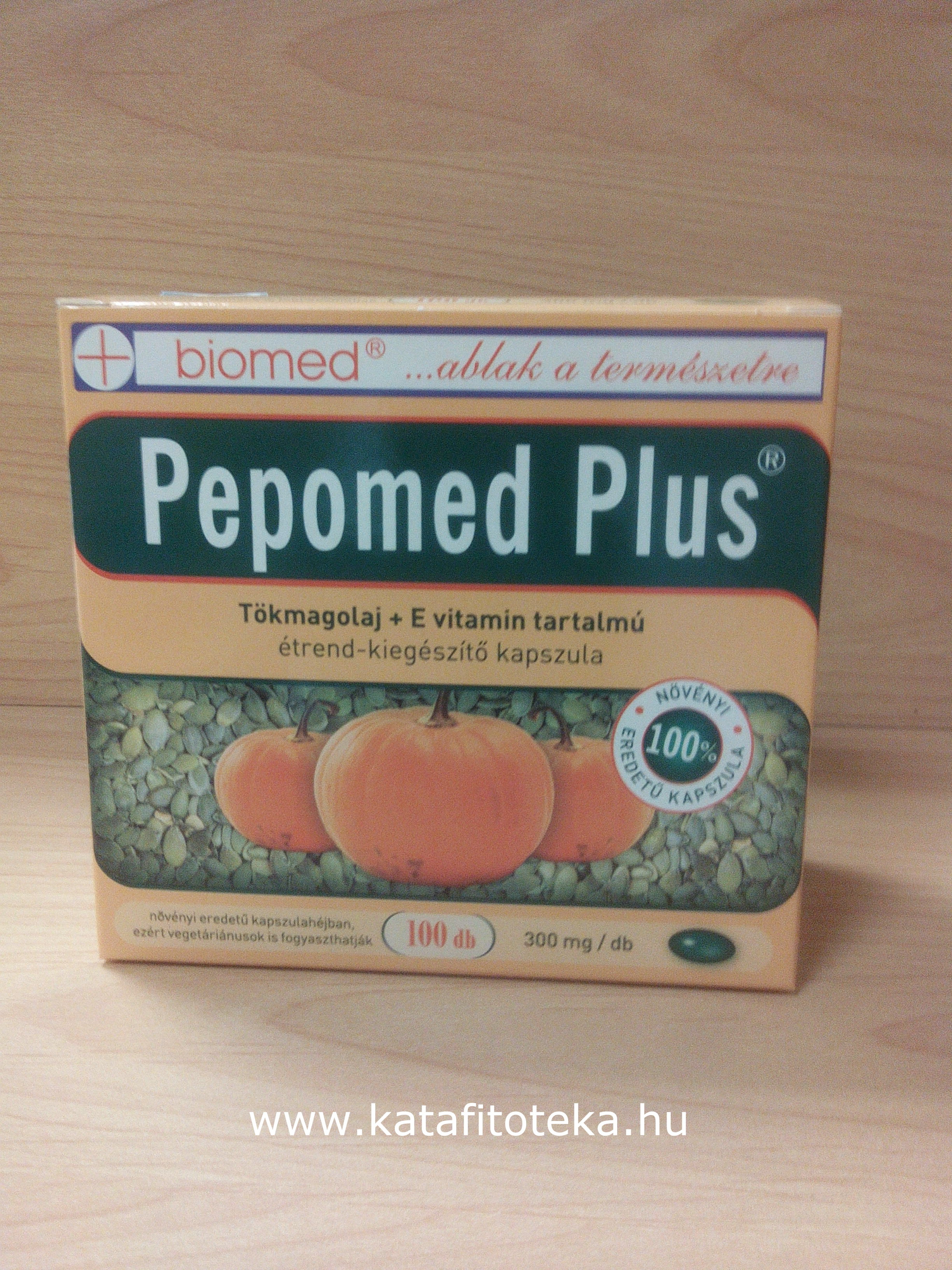 PEPOMED PLUS KAPSZULA 100 db