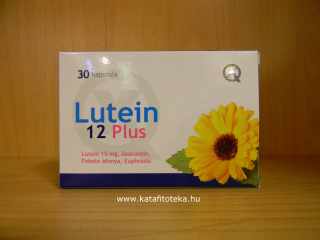 LUTEIN 12 PLUS TABLETTA 30 DB