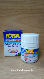 TOVITA +D3 VITAMIN TABLETTA 60 DB