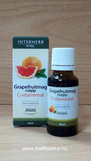 INTERHERB VITAL GRAPEFRUITMAG CSEPP C-VITAMINNAL 20 ml